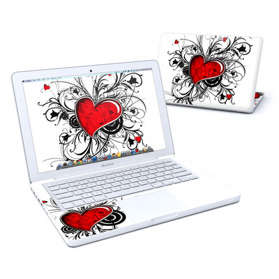 MacBook 13in Skin - My Heart