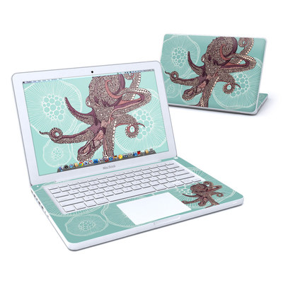 MacBook 13in Skin - Octopus Bloom