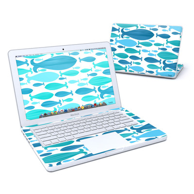 MacBook 13in Skin - Ocean Rain