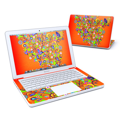 MacBook 13in Skin - Orange Squirt