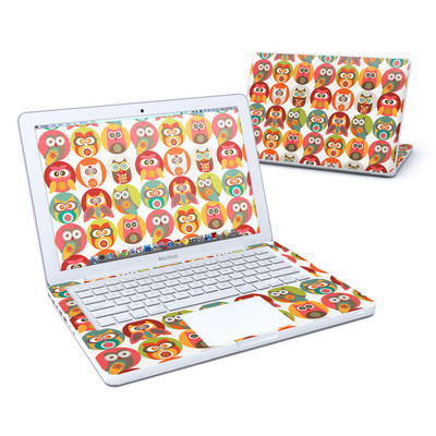 MacBook 13in Skin - Owls Family