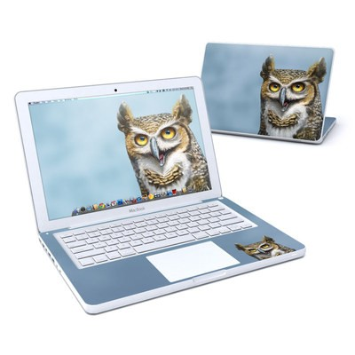 MacBook 13in Skin - Owl Totem