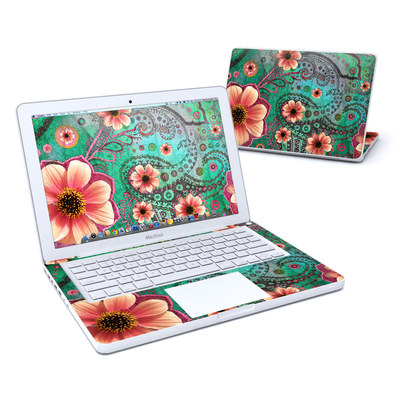 MacBook 13in Skin - Paisley Paradise
