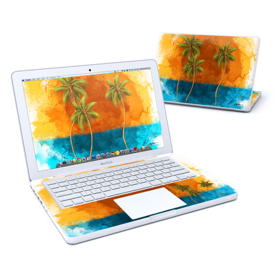 MacBook 13in Skin - Palm Trio