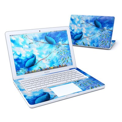 MacBook 13in Skin - Paradise Peacocks
