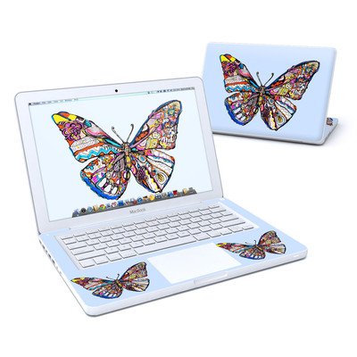 MacBook 13in Skin - Pieced Butterfly