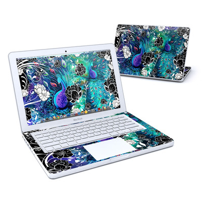 MacBook 13in Skin - Peacock Garden