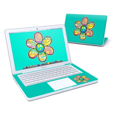 MacBook 13in Skin - Peace Flower