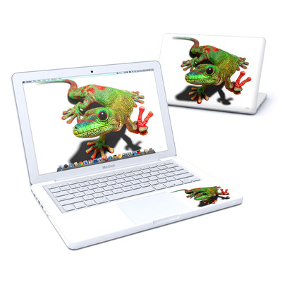 MacBook 13in Skin - Peace Gecko