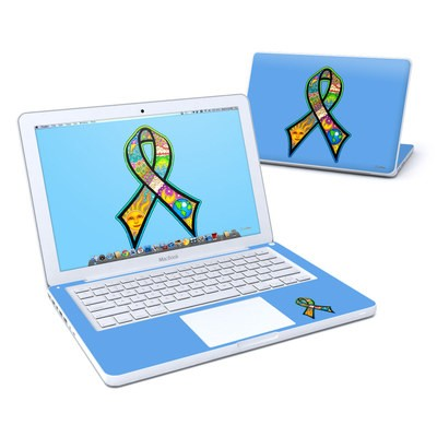 MacBook 13in Skin - Peace Ribbon