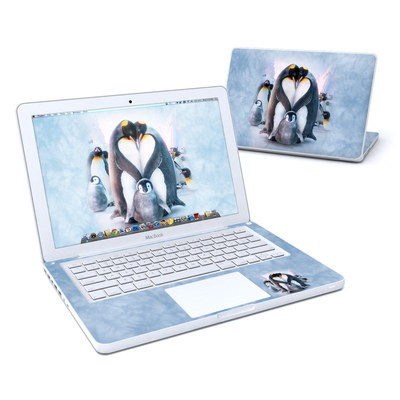 MacBook 13in Skin - Penguin Heart