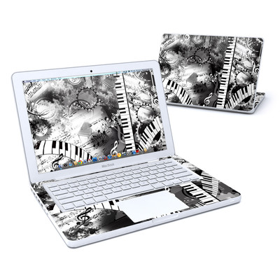 MacBook 13in Skin - Piano Pizazz
