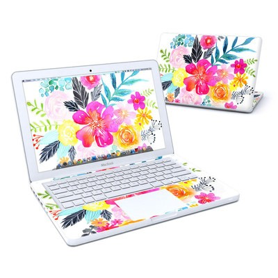 MacBook 13in Skin - Pink Bouquet