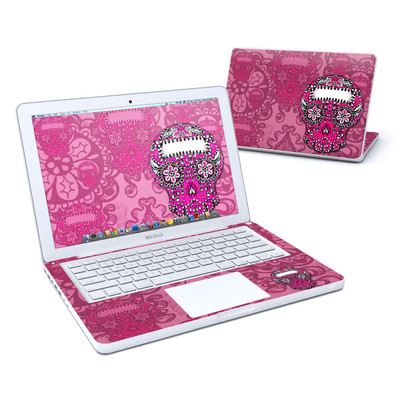MacBook 13in Skin - Pink Lace