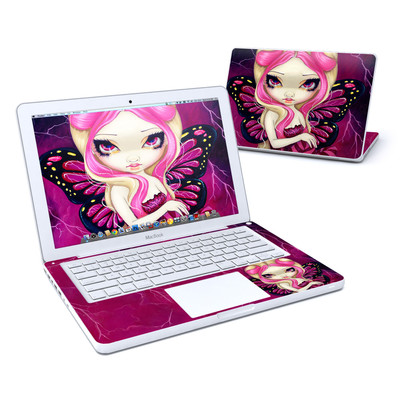 MacBook 13in Skin - Pink Lightning