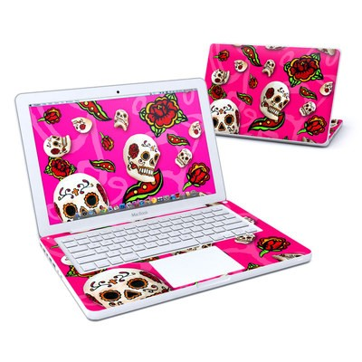 MacBook 13in Skin - Pink Scatter