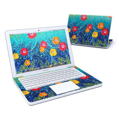 MacBook 13in Skin - Poppies