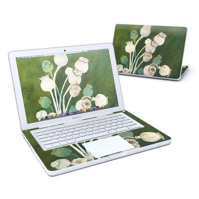 MacBook 13in Skin - Poppy Pods