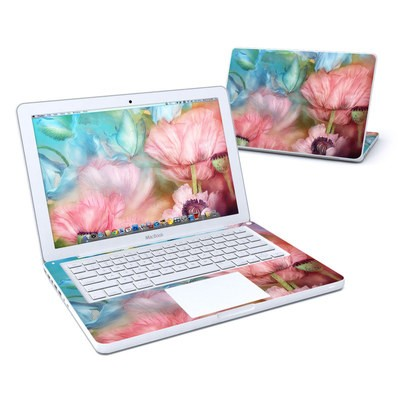 MacBook 13in Skin - Poppy Garden