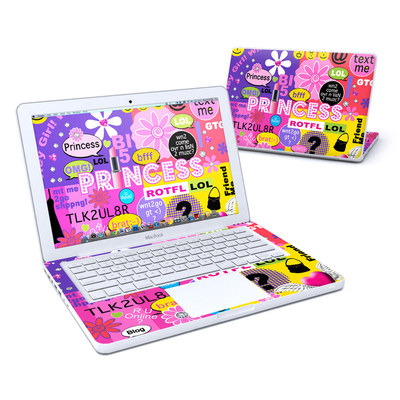 MacBook 13in Skin - Princess Text Me
