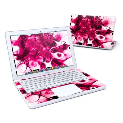 MacBook 13in Skin - Pink Splatter
