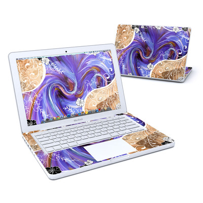 MacBook 13in Skin - Purple Waves