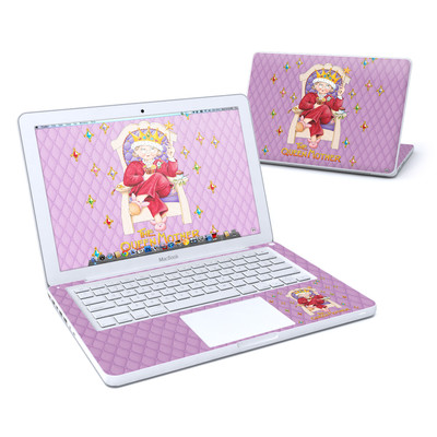 MacBook 13in Skin - Queen Mother
