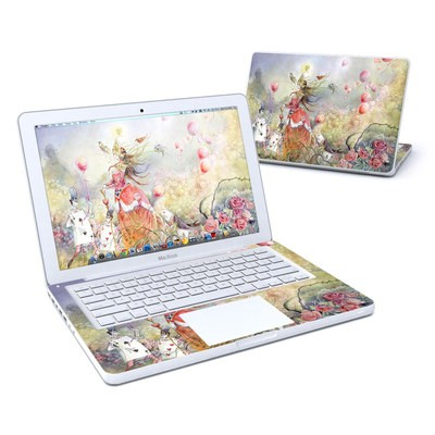 MacBook 13in Skin - Queen of Hearts