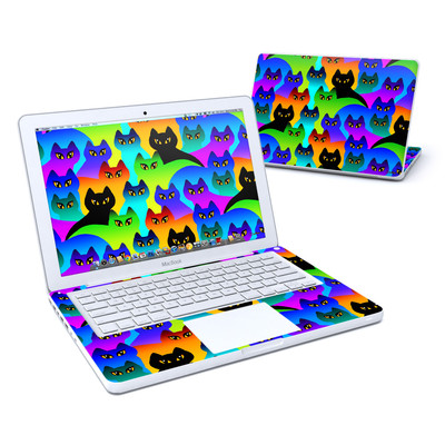 MacBook 13in Skin - Rainbow Cats