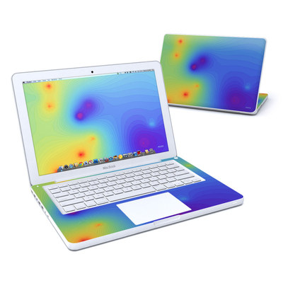 MacBook 13in Skin - Rainbow Contours