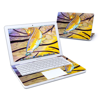 MacBook 13in Skin - Red Fish