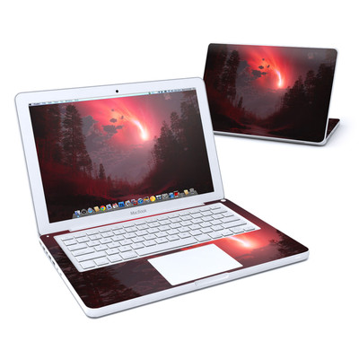 MacBook 13in Skin - Red Harbinger
