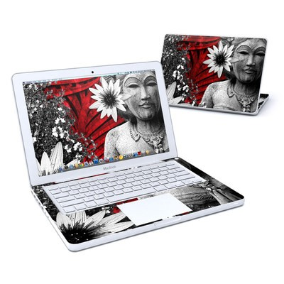 MacBook 13in Skin - Red Island Radiance
