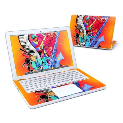 MacBook 13in Skin - Red Hot Jazz