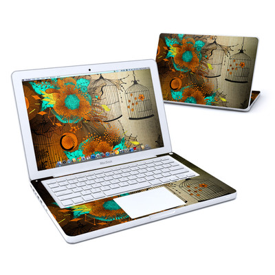 MacBook 13in Skin - Rusty Lace