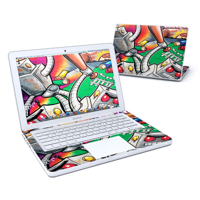 MacBook 13in Skin - Robot Beatdown