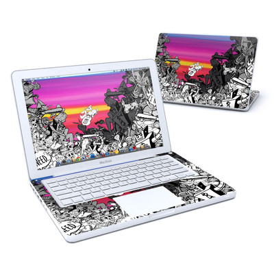 MacBook 13in Skin - Robo Fight