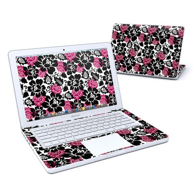 MacBook 13in Skin - Rose Noir