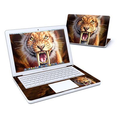 MacBook 13in Skin - Sabertooth