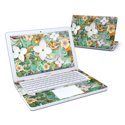 MacBook 13in Skin - Sangria Flora