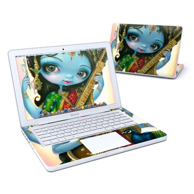 MacBook 13in Skin - Saraswati Playing