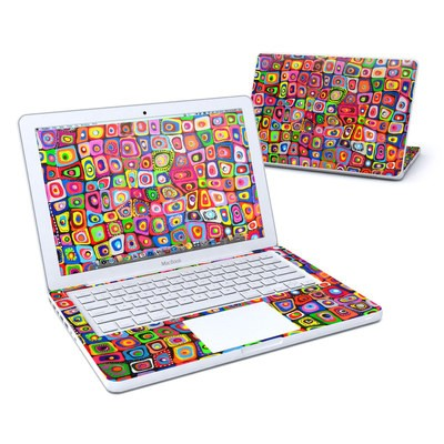 MacBook 13in Skin - Square Dancing