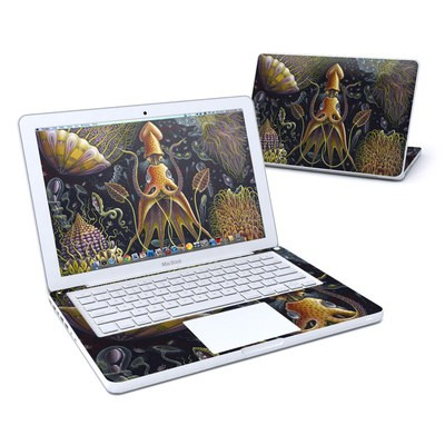 MacBook 13in Skin - Sea Flowers