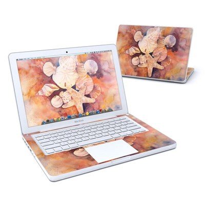 MacBook 13in Skin - Sea Shells