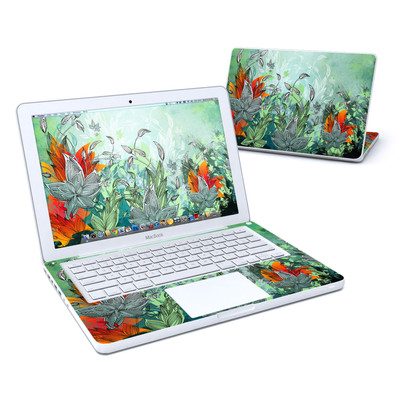 MacBook 13in Skin - Sea Flora