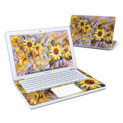 MacBook 13in Skin - Sunflower