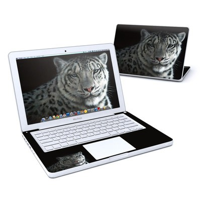 MacBook 13in Skin - Silver Shadows