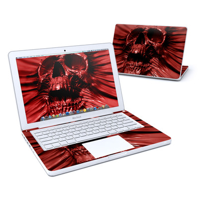 MacBook 13in Skin - Skull Blood