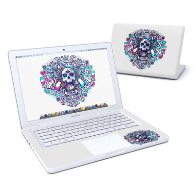 MacBook 13in Skin - Skulls Are Cliche