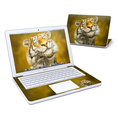 MacBook 13in Skin - Smiling Tiger